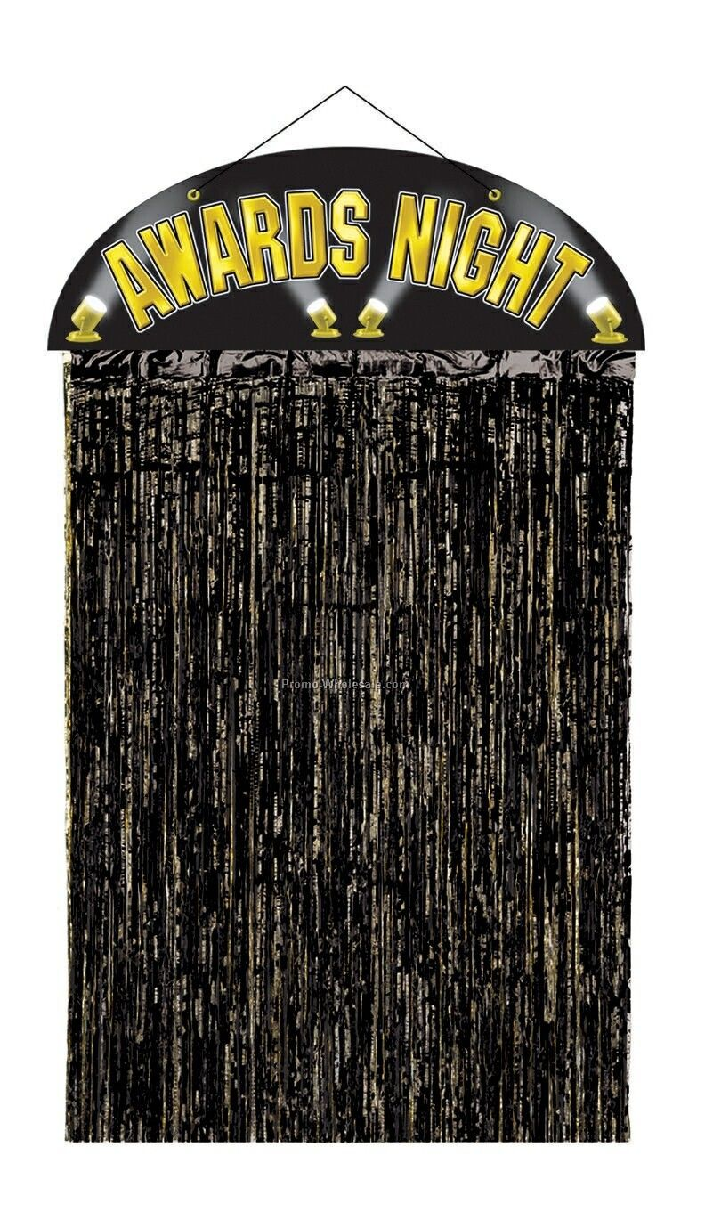 4-1/2'x3' Awards Night Door Curtain