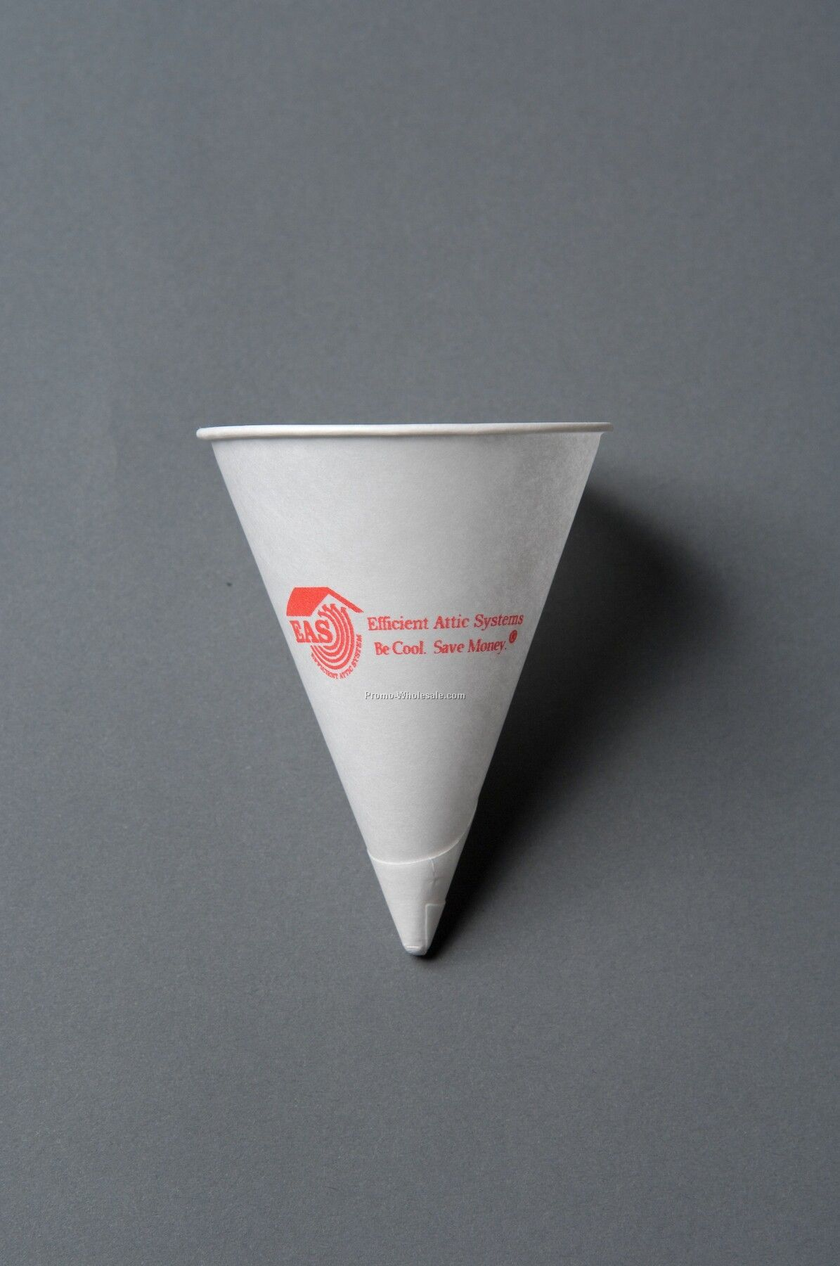 4 Oz. White Paper Conical Cup