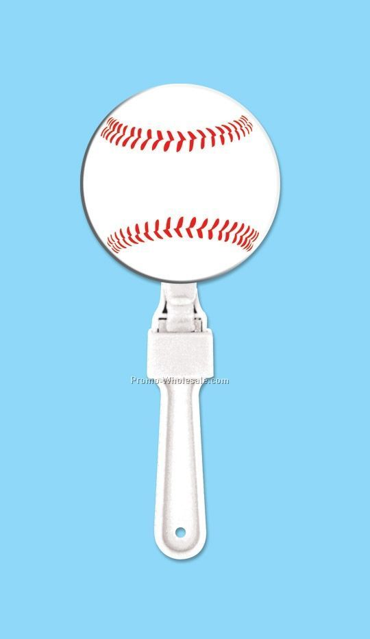 "7"" Sport Clappers - Baseball"