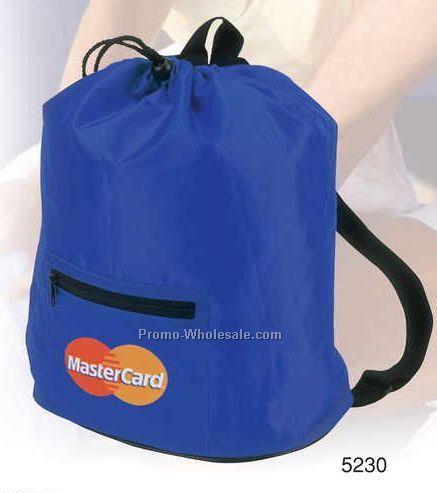 One Zipper Backpack w/ One Zipper