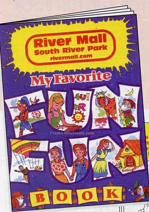 "8""x10-5/8"" 16 Page Coloring & Fun Book (My Favorite Fun Fun Book)"