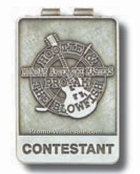 Antique Silver Money Clip