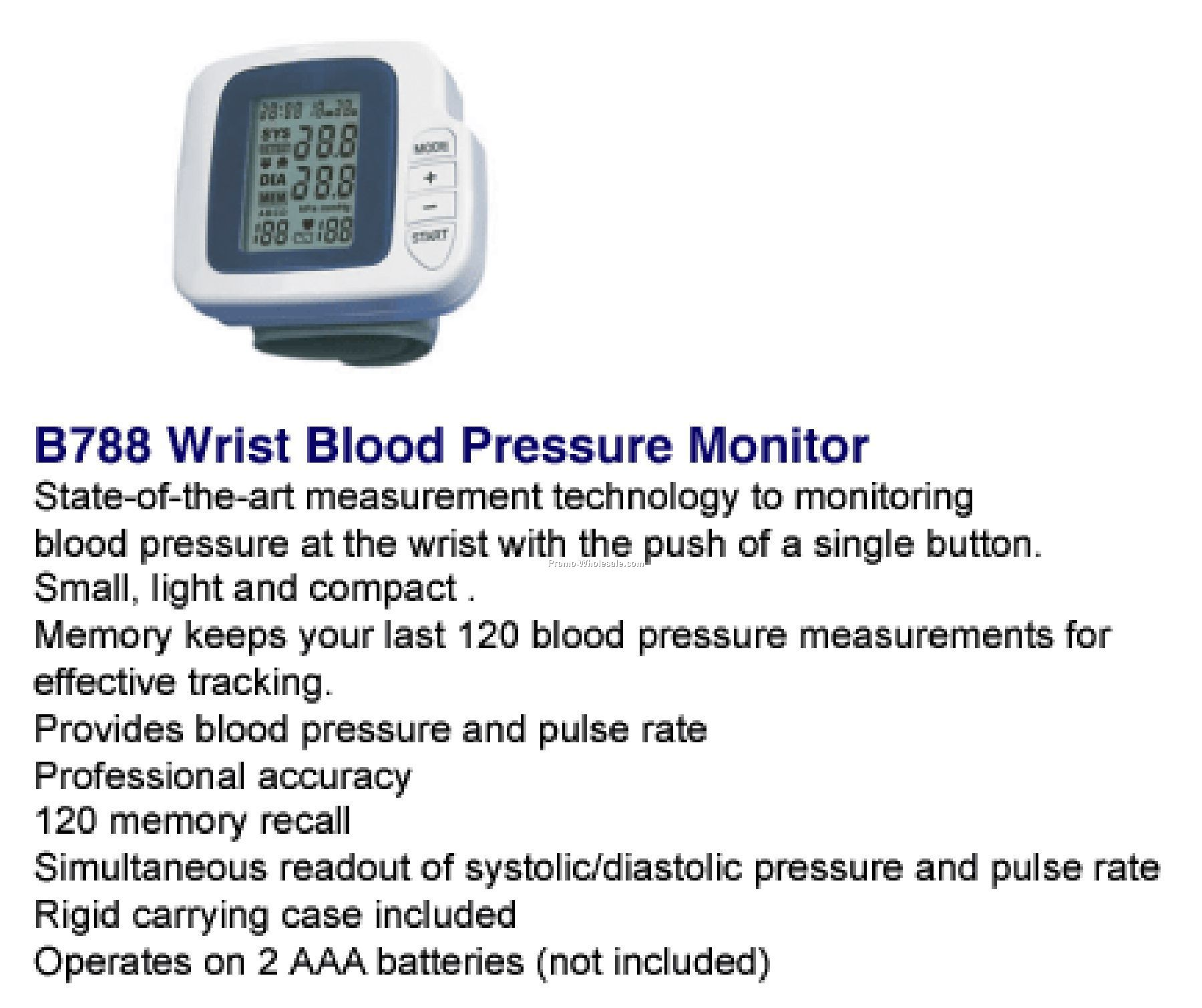 Blood pressure monitor coupons