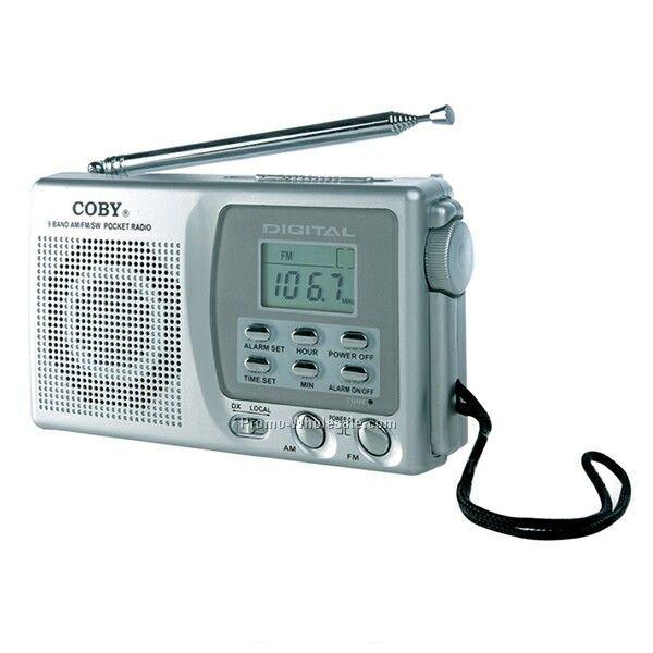 ... AM/FM/Sw Pocket Radio W Digital Display & Alarm Clock,Wholesale china