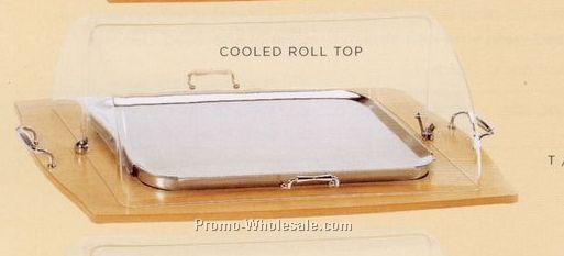 Cooled Roll Top For Serving Cart (Tanganika Finish)