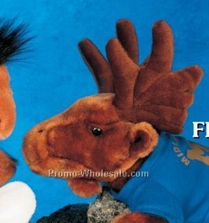 "Floppy Family Moose Stuffed Animal (10"")"