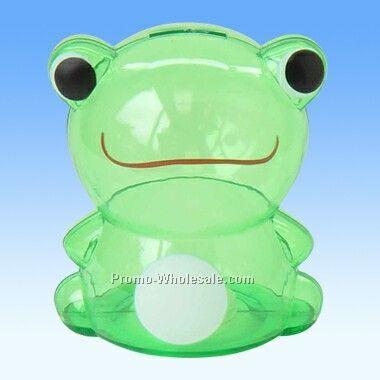 Green Frog Plastic Bank