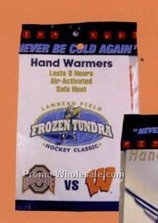 "Hand Warmer Single W/ Custom Insert Card (5""x4"")"