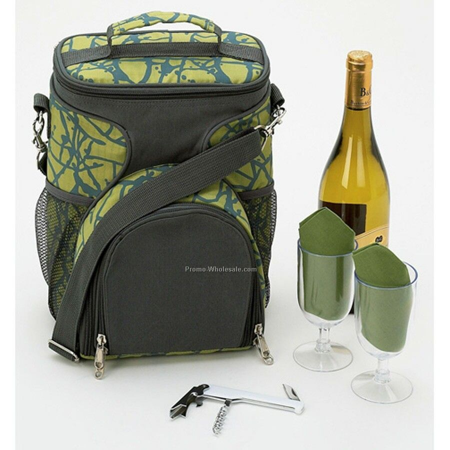 Picnic Sets For 6 Maxam 6-piece Wine Picnic Set