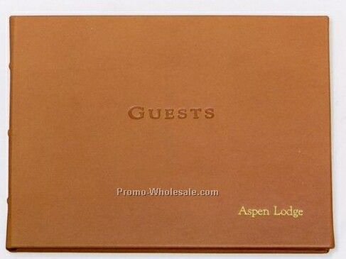 Morocco Premium Leather Guest Book Wholesale China