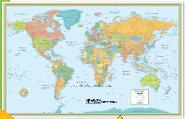faf65819004d3 Reduced Size - M Series - World Wall Map (32