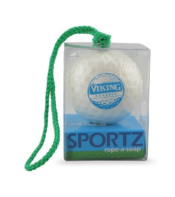 Sportz World Soap On A Rope - Golf Ball