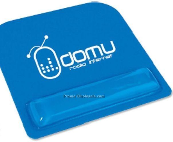 Square Economy Mouse Pad W/ Wrist Rest