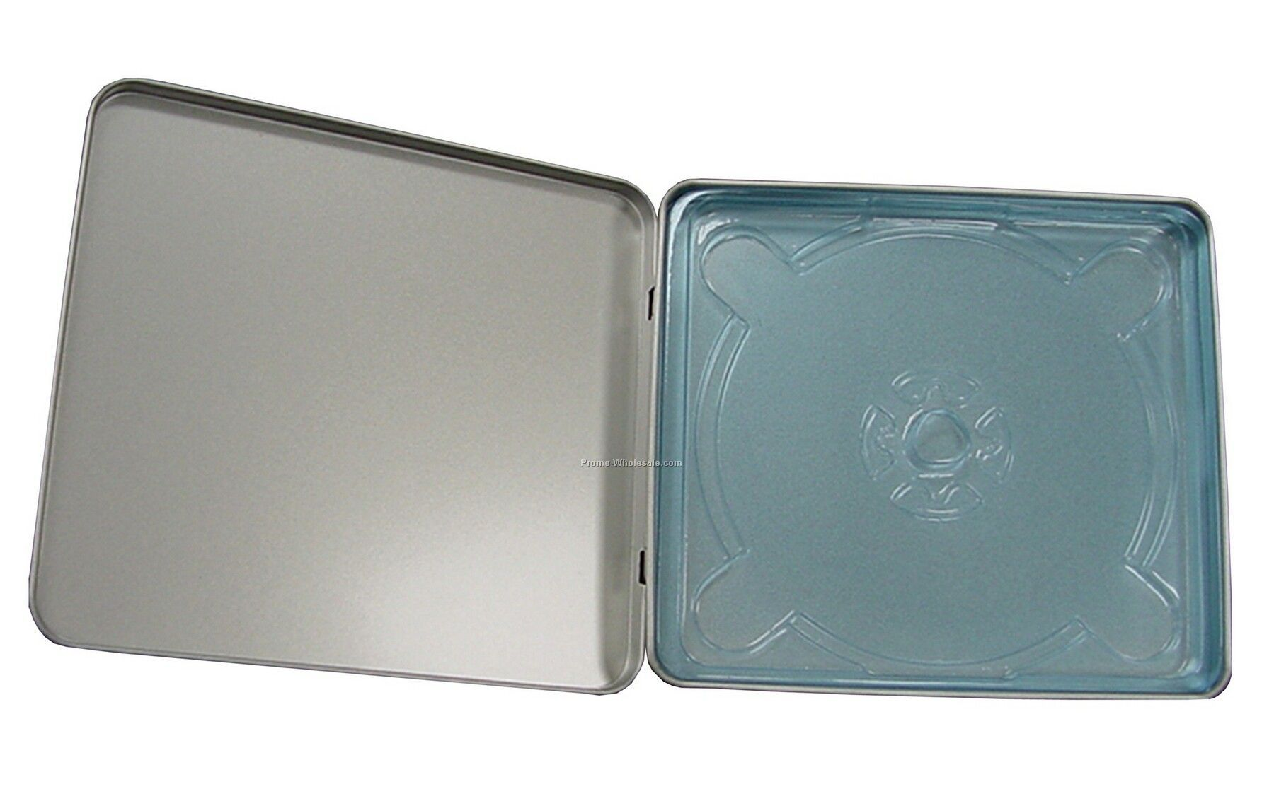 Square Tin Disc Case