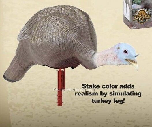 Turkey Decoy - Active Feeding Hen