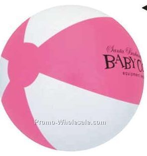 "16"" Inflatable Two Alternating Color Beach Ball"
