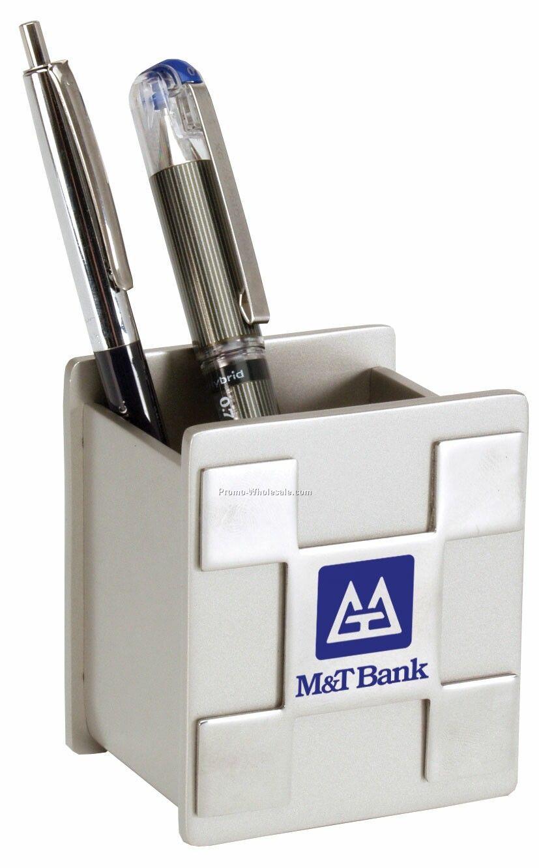 "3-1/2"" Metal Cell Phone & Pen Box"