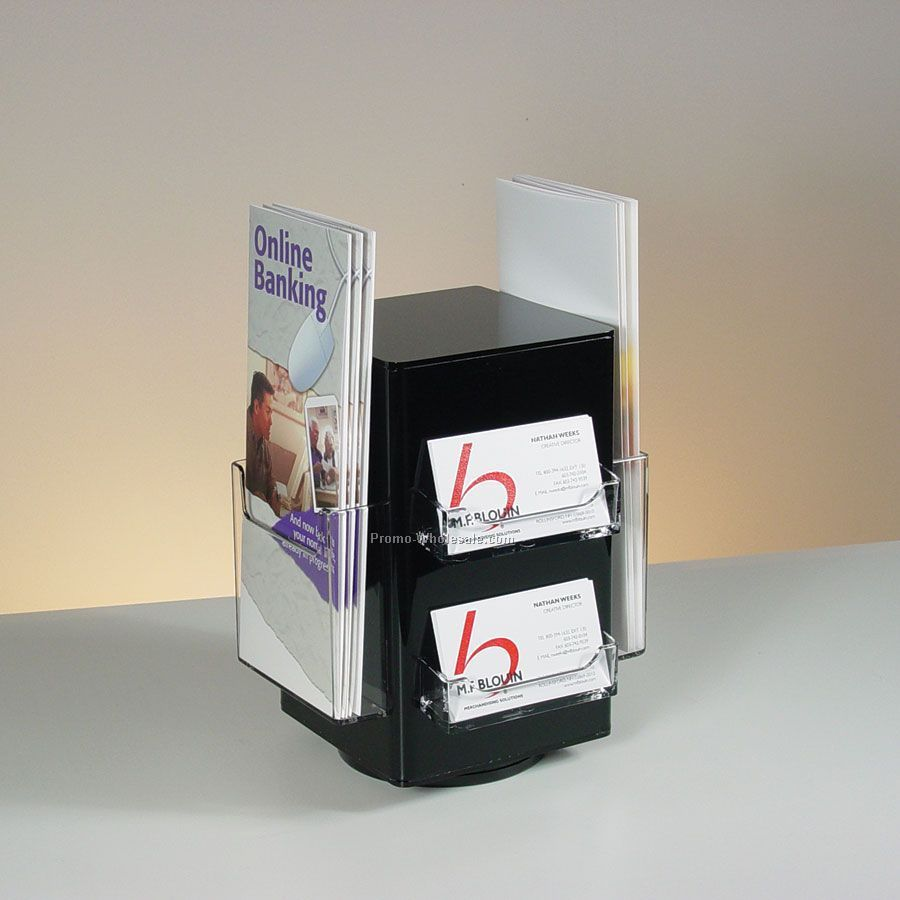 4 Sided Rotating Business Card / Brochure Holder