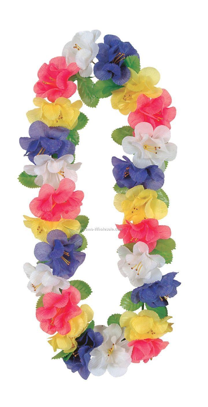 """40"""" Silk `n Petals Jumbo Flower Leis"""