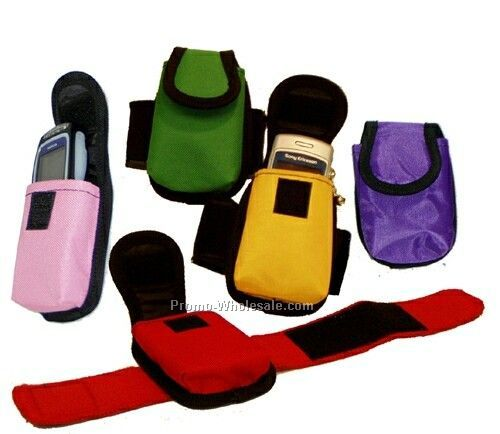 "420d Arm Band Cell Phone Holder (4-1/4""x3"")"