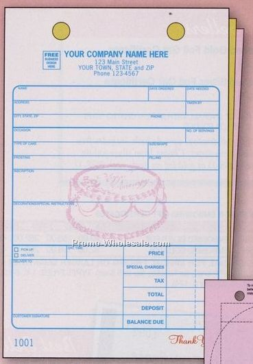 Cake Ball Order Form Templates Free | Bakery Order Form Template