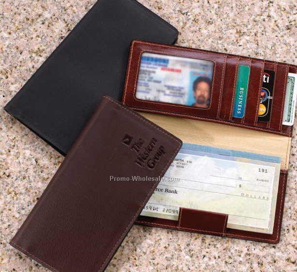 6 2 u0026quot x3 2 u0026quot  leather checkbook cover wholesale china