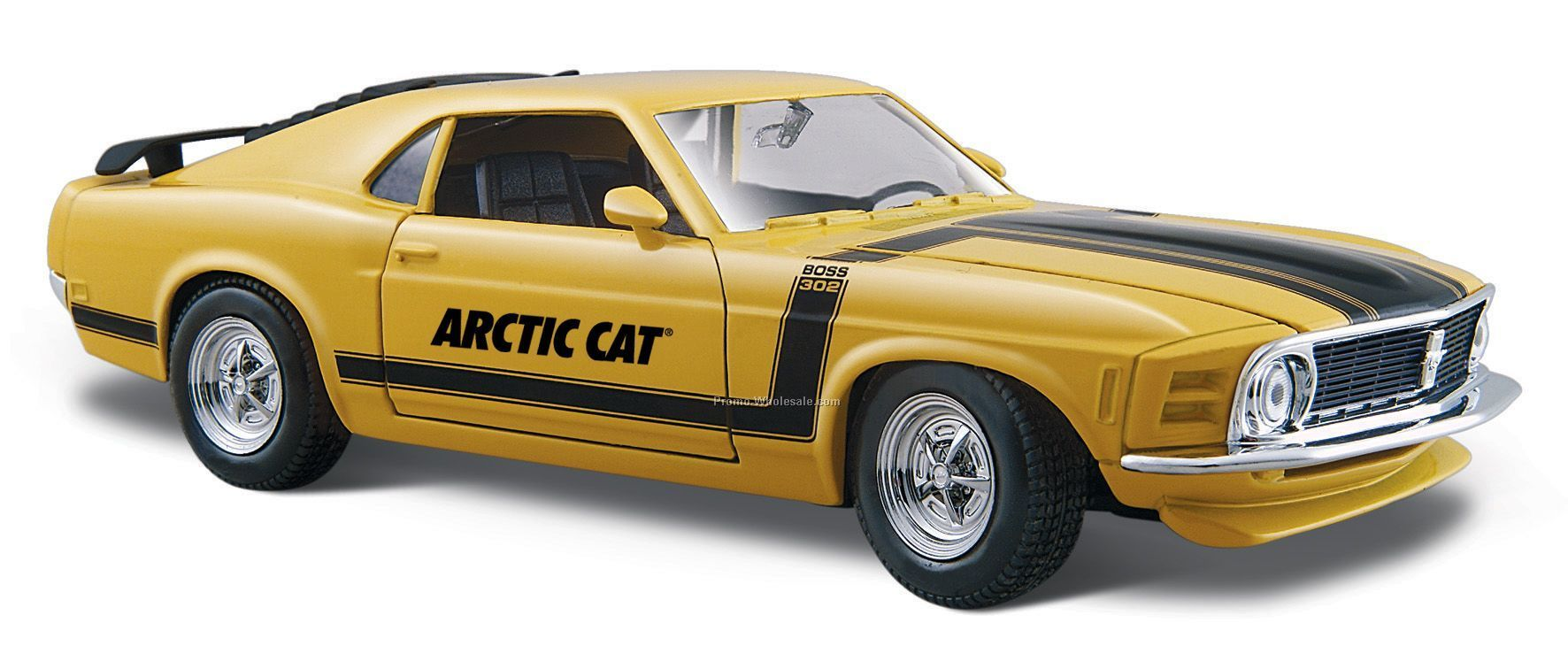 "7""x2-1/2""x3"" 1970 Ford Boss Mustang Die Cast Replica Car"