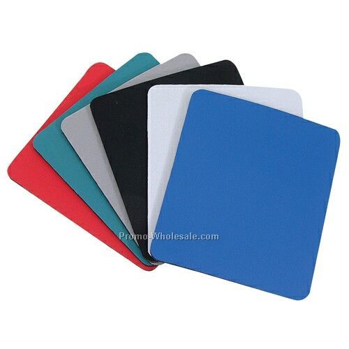 "9-1/4""x7-3/4""x1/4"" Soft Surface Mouse Pad W/ Rubber Base"