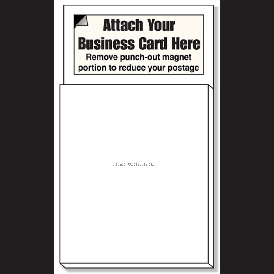 Magnetic Business Card Notepads Choice Image - Free Business Cards