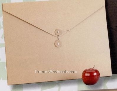 "Chipboard String Tied Envelope - 16-5/8""x12-5/8""x1/2"""