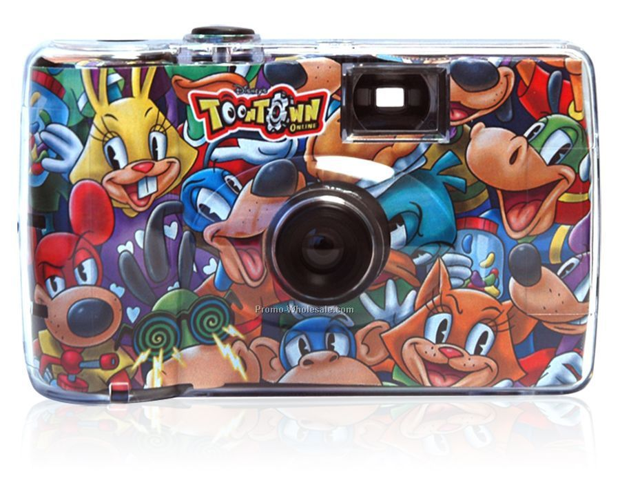 Custom Disposable Camera - 27 Exposures