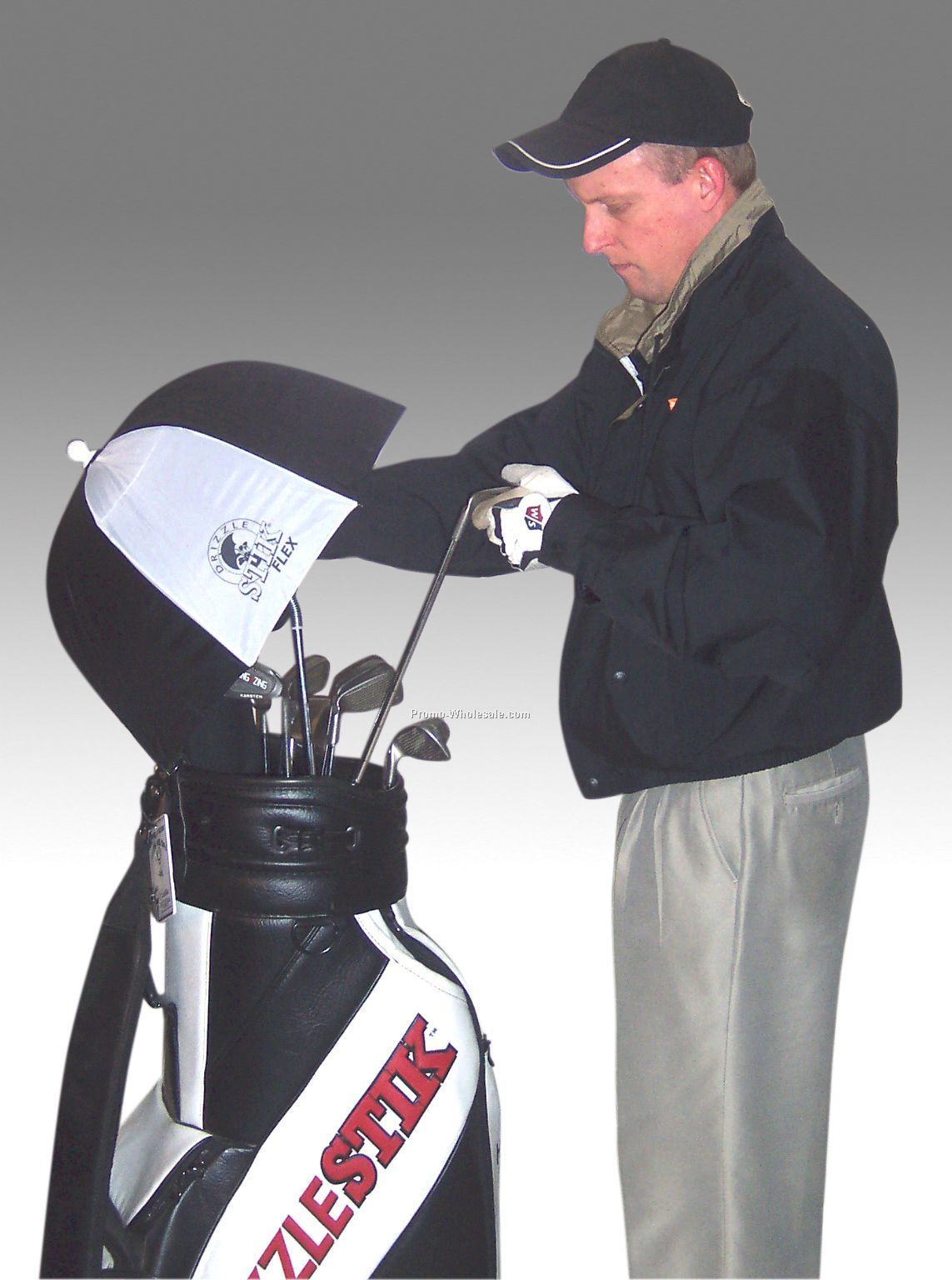 Drizzlestik / Drizzlestik Flex Golf Bag Umbrella