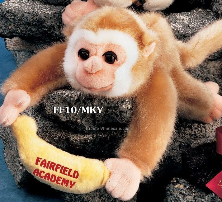 "Floppy Family Monkey Stuffed Animal (10"")"