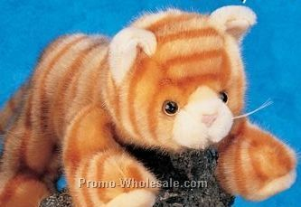 "Floppy Family Tabby Cat Stuffed Animal (10"")"
