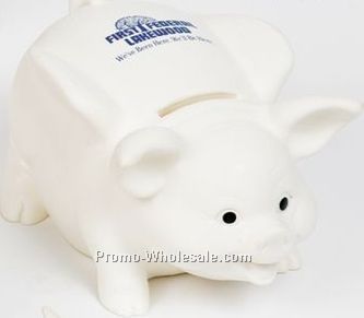 Valumark Large Transparent Blue Piggy Bank 4 3 4 X3 3 4 X3
