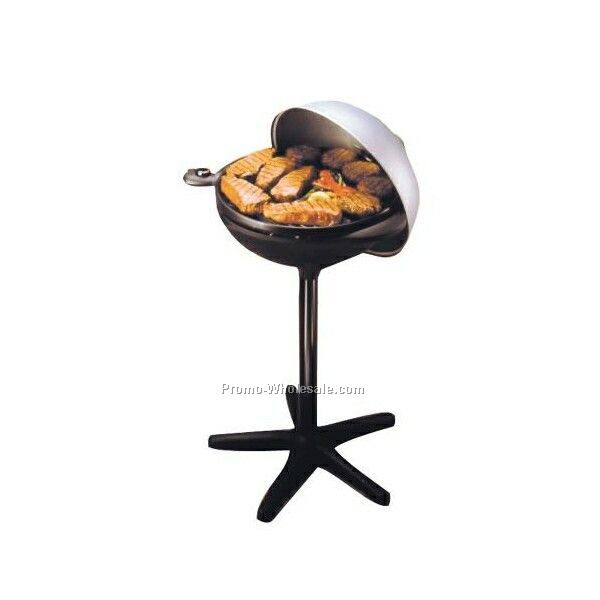 George Foreman Grill With Removable Trays GRP4B