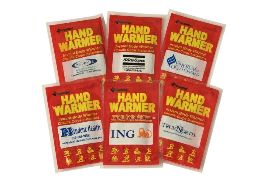 Instant Body / Hand Warmer (Imprinted)