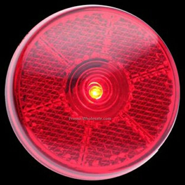 Light Up Reflector (Blinking) - Round