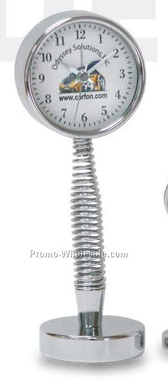 Metal Bobble Alarm Clock