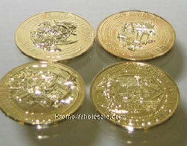 Metal Pirate Coins