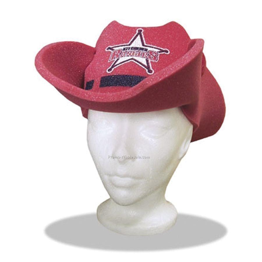 7a6fea6e74a26 Pop-up Visor - Small Cowboy Hat With Folded Brim