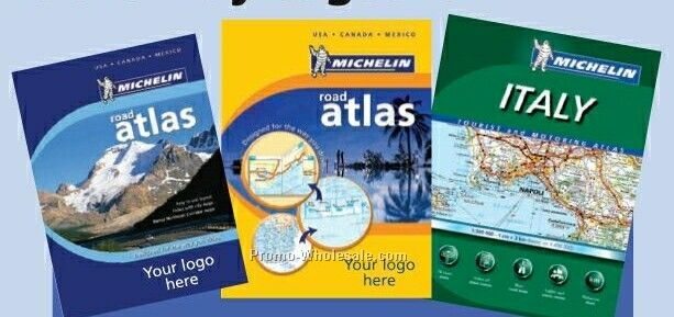 The Michelin Midsize Road Atlas For Italy
