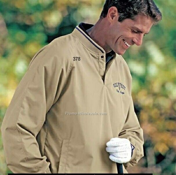 Tin Cup Polyester Microfiber Windshirt With Nylon Lining (S-xl)