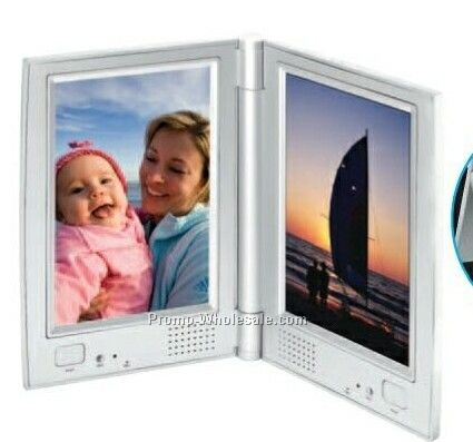 two sided voice recorder w picture frame