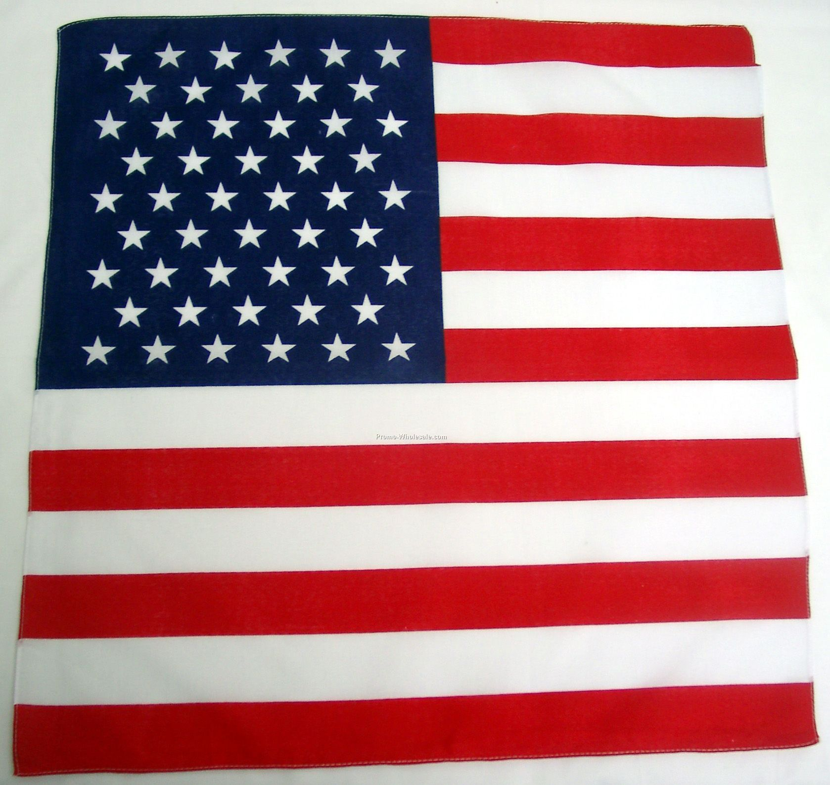 100% Cotton Usa Flag Bandanna