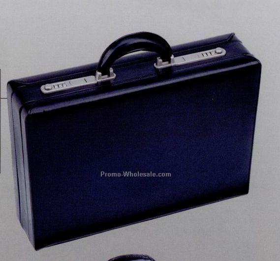 "18""x13""x4/5"" Simulated Leather Continental Attache Case"