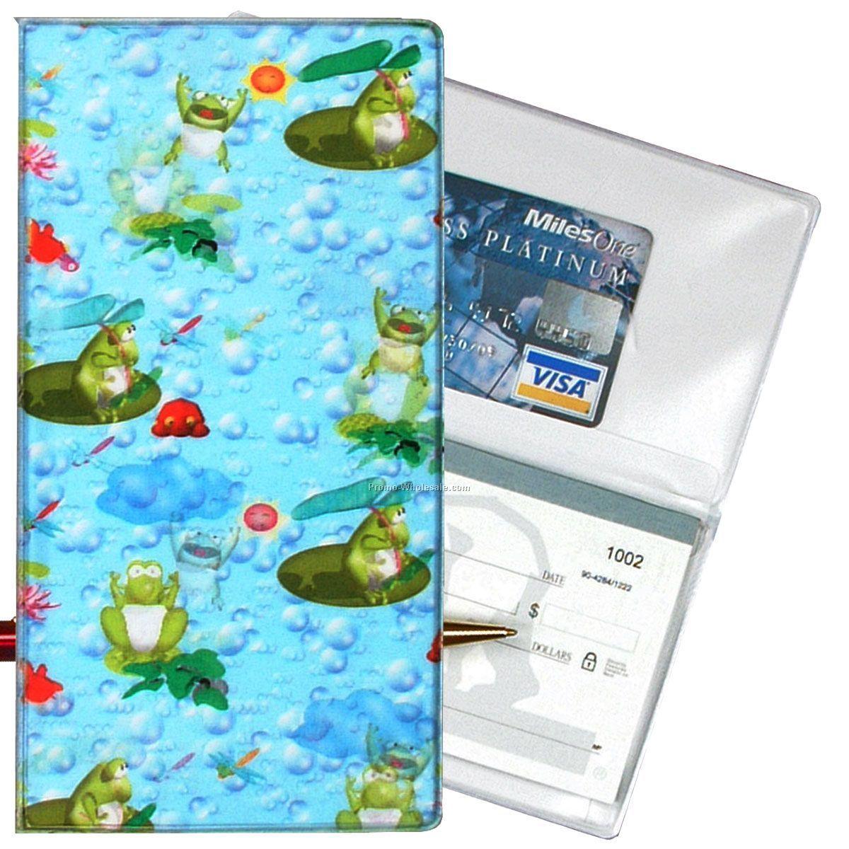3-3  8 u0026quot x6-3  8 u0026quot  3d lenticular checkbook cover