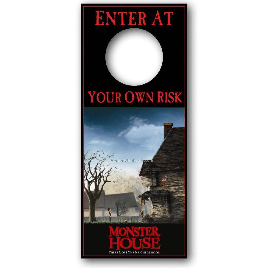 Enjoyed promoting their pany with these furthermore custom door hanger