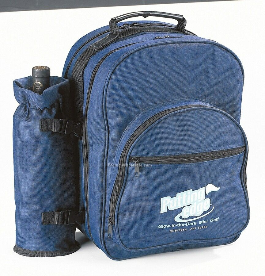 600d Polyester Picnic Backpack For 4