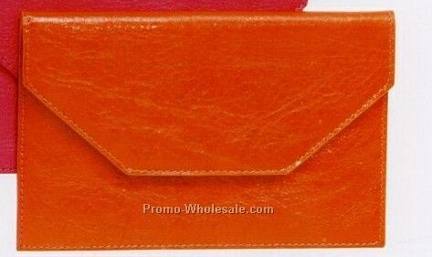 "7""x4-1/2"" Medium Terello Premium Leather Envelope"